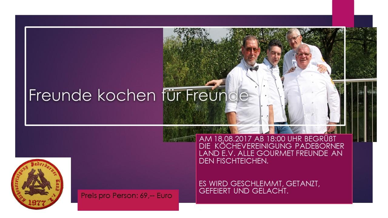safe the date freunde kochen f r freunde bernemanns zum h lzchen wewer. Black Bedroom Furniture Sets. Home Design Ideas